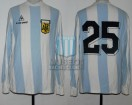 Argentina - 1983 - Home - Le Coq Sportif - Copa America IDA vs Ecuador - R. Insua
