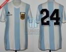 Argentina - 1983 - Home - Le Coq Sportif - Copa America vs Brasil - J. Olarticoechea