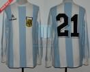 Argentina - 1983 - Home - Le Coq Sportif - Copa America IDA vs Ecuador - J. Burruchaga