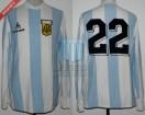 Argentina - 1983 - Home - Le Coq Sportif - Copa America vs Ecuador - J. Ponce
