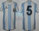 Argentina - 1984 - Home - Le Coq Sportif - Copa Nehru - O. Garre