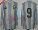 Argentina - 1985 - Home - Le Coq Sportif - Qualy Mexico WC vs Venezuela - R. Gareca