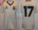 Argentina - 1986 - Away - Le Coq Sportif - Mexico WC - P. Pasculli