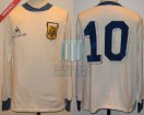 Argentina - 1986 - Away - Le Coq Sportif - Friendly vs Napoli - D. Maradona