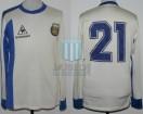 Argentina - 1986 - Away - Le Coq Sportif - Juegos Odesur - P. Troglio