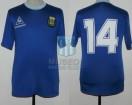 Argentina - 1987 - Away - Le Coq Sportif - SF Copa America vs Uruguay - R. Giusti