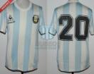 Argentina - 1987 - Home - Le Coq Sportif - Copa America vs Colombia - C. Tapia