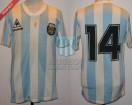 Argentina - 1987 - Home - Le Coq Sportif - Copa America vs Colombia - R. Giusti