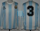 Argentina - 1988 - Home - Le Coq Sportif - Copa Cuatro Naciones vs Germany - J. Brown