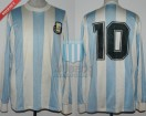 Argentina - 1988 - Home - Le Coq Sportif - Four Nations Cup vs URSS - D. Maradona