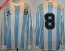 Argentina - 1988 - Home - Le Coq Sportif - Copa Cuatro Naciones vs Germany - P. Troglio