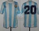Argentina - 1989 - Home - Le Coq Sportif - Copa America Brasil vs Bolivia - H. Enrique