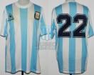 Argentina - 1989 - Home - Le Coq Sportif - Copa America vs Paraguay - A. Balbo