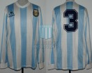 Argentina - 1989 - Home - Le Coq Sportif - Friendly - R. Sensini