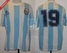 Argentina - 1989 - Home - Le Coq Sportif - Ronda Final Copa America vs Brasil - P. Troglio