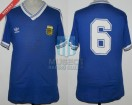 Argentina - 1990 - Away - Adidas - Final Italy WC vs Germany - G. Calderon