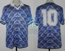 Argentina - 1990 - Away - Adidas - Friendly vs Linfield - D. Maradona