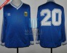 Argentina - 1990 - Away - Adidas - Italy WC / Friendly - J. Simon