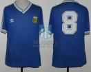 Argentina - 1990 - Away - Adidas - QF Italy WC vs Yugoslavia - C. Caniggia