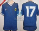 Argentina - 1990 - Away - Adidas - Final Italy WC vs Germany - R. Sensini