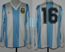 Argentina - 1990 - Home - Adidas - Friendly vs Suiza - C. Caniggia