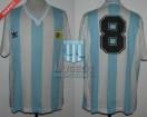 Argentina - 1990 - Home - Adidas - R16 Italy WC vs Brasil - C. Caniggia