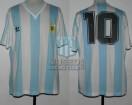 Argentina - 1990 - Home - Adidas - Italy WC vs Romania - D. Maradona