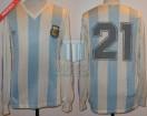 Argentina - 1991 - Home - Adidas - Copa America Chile - B. Giunta