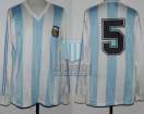 Argentina - 1991 - Home - Adidas - Final Copa America vs Colombia - L. Astrada