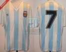 Argentina - 1991 - Home - Adidas - Friendly vs Hungary - R. Medina Bello