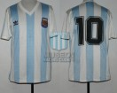 Argentina - 1991 - Home - Adidas - Friendly vs Brasil - D. Simeone