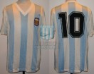 Argentina - 1991 - Home - Adidas - Friendly vs Rest of the World - D. Latorre