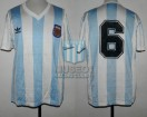Argentina - 1992 - Home - Adidas - Final King Fahd Cup vs Saudi Arabia - O. Ruggeri