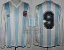 Argentina - 1992 - Home - Adidas - Kirin Cup vs Japan - G. Batistuta