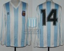 Argentina - 1992 - Home - Adidas - Kirin Cup vs Japan - D. Cagna