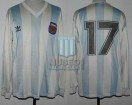 Argentina - 1992 - Home - Adidas - U23 Friendly vs Paraguay - C. Rivadero
