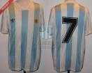 Argentina - 1993 - Home - Adidas - Copa Centenario AFA vs Brasil - C. Caniggia