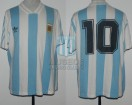 Argentina - 1993 - Home - Adidas - FINAL Ecuador Copa America vs Mexico - D. Simeone
