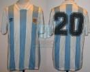 Argentina - 1993 - Home - Adidas - Copa Artemio Franchi vs Denmark - L. Rodriguez