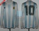 Argentina - 1993 - Home - Adidas - Playoff Qualy USA WC vs Australia - D. Maradona