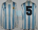 Argentina - 1993 - Home - Adidas - Playoff Qualy USA WC vs Australia - F. Redondo
