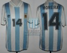 Argentina - 1993 - Home - Adidas - U17 Japan WC vs Nigeria - J. Moreiras