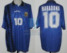 Argentina - 1994 - Away - Adidas - USA WC vs Greece - D. Maradona