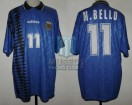 Argentina - 1994 - Away - Adidas - USA WC vs Greece - R. Medina Bello
