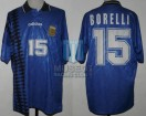 Argentina - 1994 - Away - Adidas - USA WC vs Greece - J. Borelli
