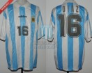 Argentina - 1994 - Home - Adidas - 8vos USA WC vs Rumania - H. Diaz