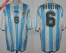 Argentina - 1994 - Home - Adidas - 8vos USA WC vs Rumania - O. Ruggeri