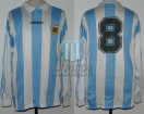 Argentina - 1994 - Home - Adidas - Friendly/Utileria - D. Franco