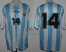 Argentina - 1994 - Home - Adidas - Friendly vs Chile - L. Carranza