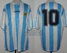 Argentina - 1994 - Home - Adidas - Friendly vs Croatia - D. Maradona